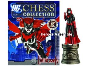 DC Chess Figurine Collection #27 Batwoman White Rook Eaglemoss